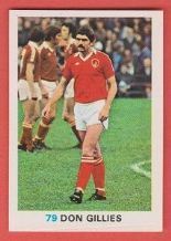 Bristol City Don Gillies